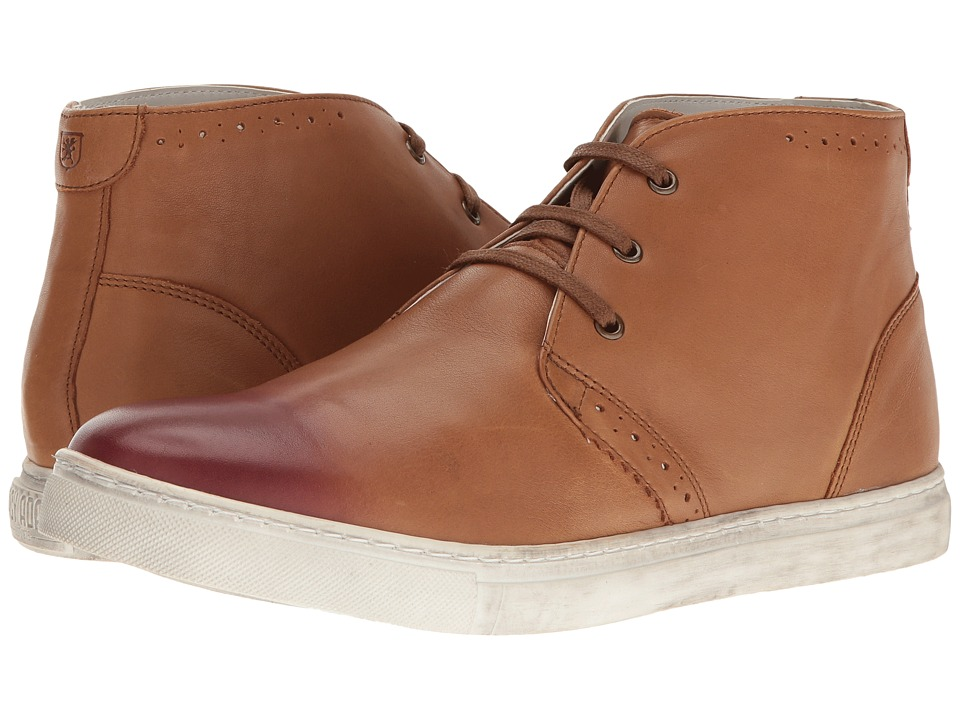 Stacy Adams Wynton Chukka Boot (Cognac/Burgundy) Men