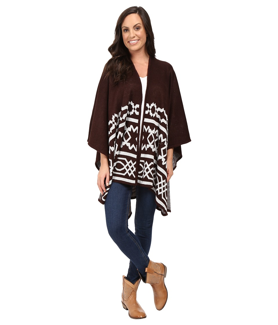 Ariat - Mary Cape (Dark Chocolate) Women's Sweater