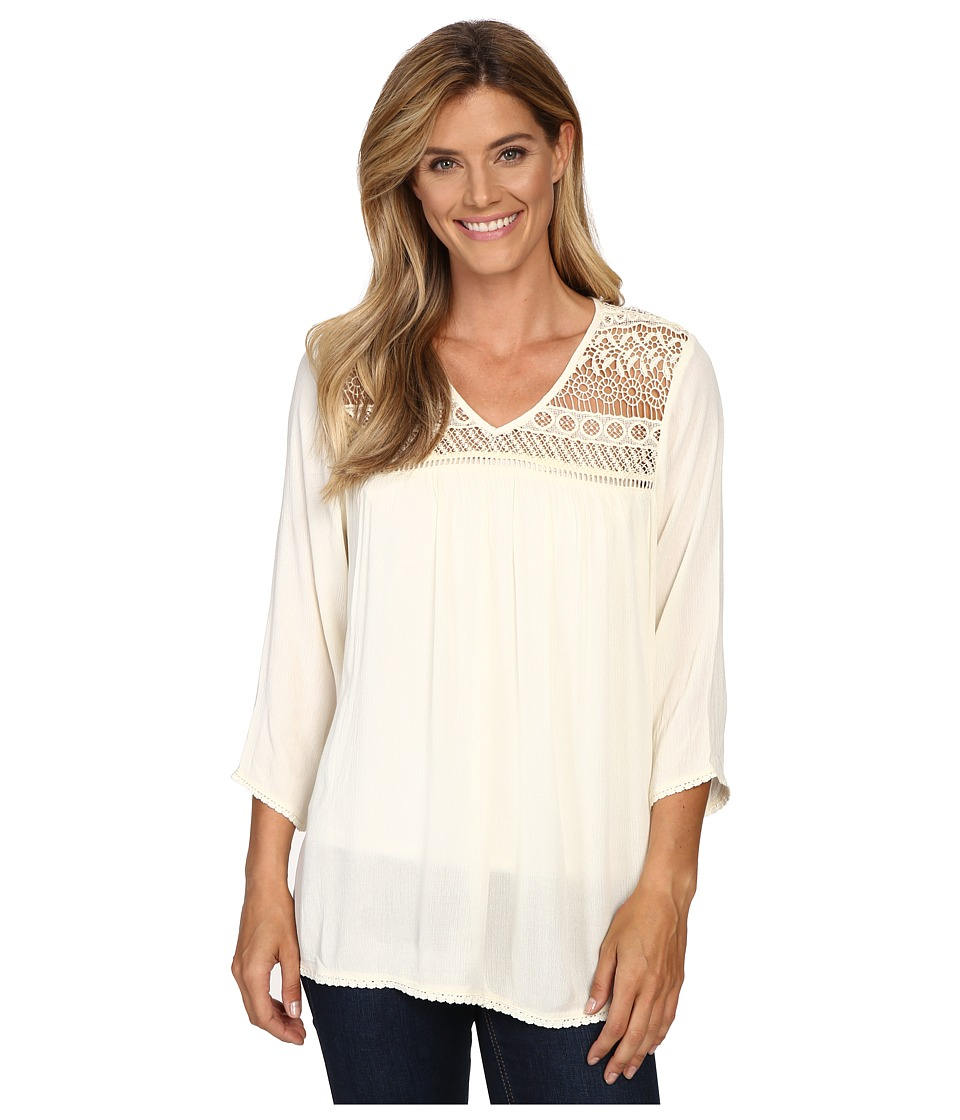 Ariat - Georgia Top (Papyrus) Women's Long Sleeve Pullover