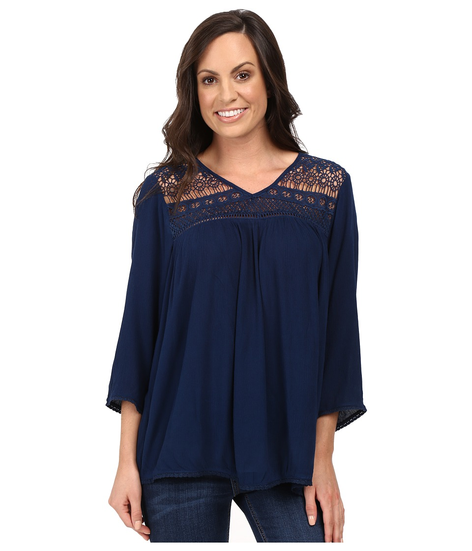 Ariat - Georgia Top (Insignia Blue) Women's Long Sleeve Pullover