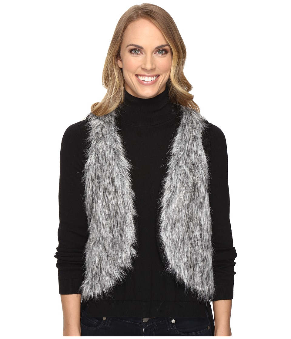 Ariat - Emma Fur Vest (Black) Women's Vest