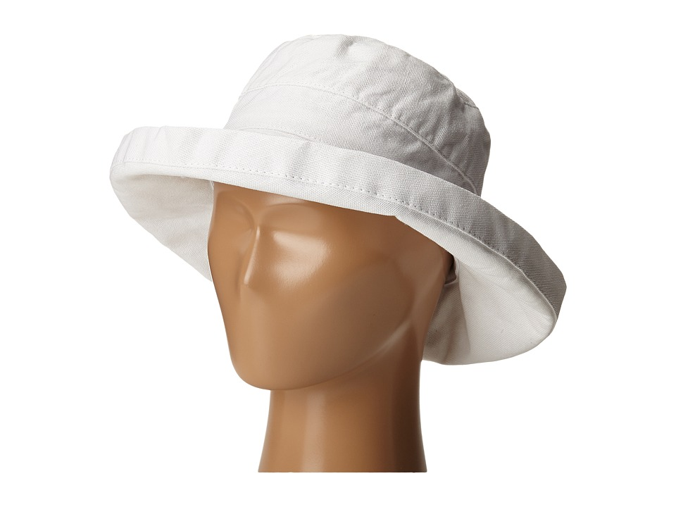 SCALA - Cotton Big Brim (Toddler/Little Kid) (White) Caps