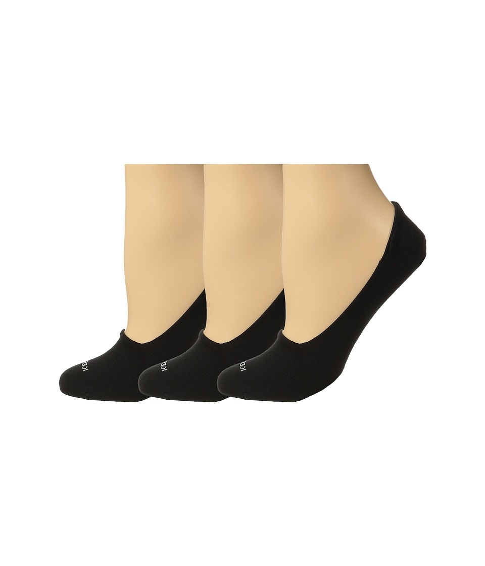 Icebreaker - Lifestyle Fine Gauge Ultra Light No Show 3-Pair (Black) Women's No Show Socks Shoes
