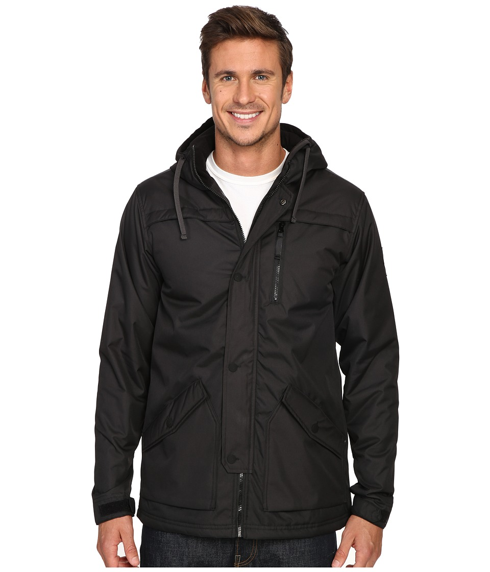 686 - Parklan Flight Insulated Jacket (Black) Men's Coat