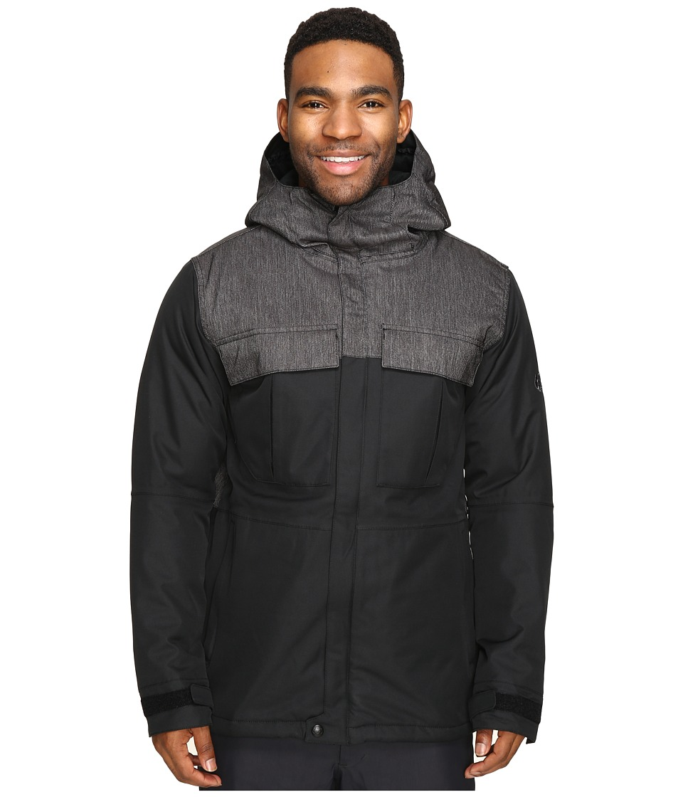 686 - Authentic Moniker Insulatd Jacket (Black) Men's Coat