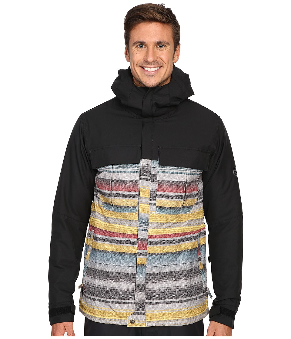 686 - Authentic Moniker Insulatd Jacket (Blanket Color Block) Men's Coat