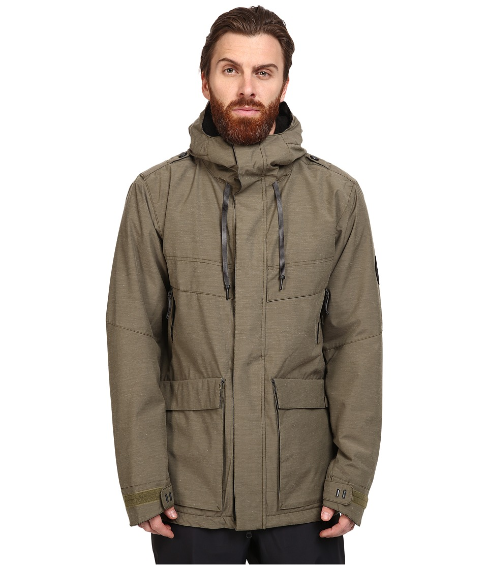 686 - Parklan Field Insulated Jacket (Olive Heather) Men's Coat