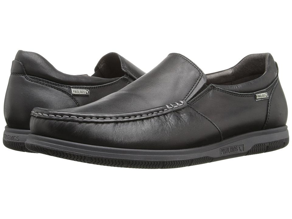 Pikolinos - Almeria 08L-3041 (Black) Men's Shoes