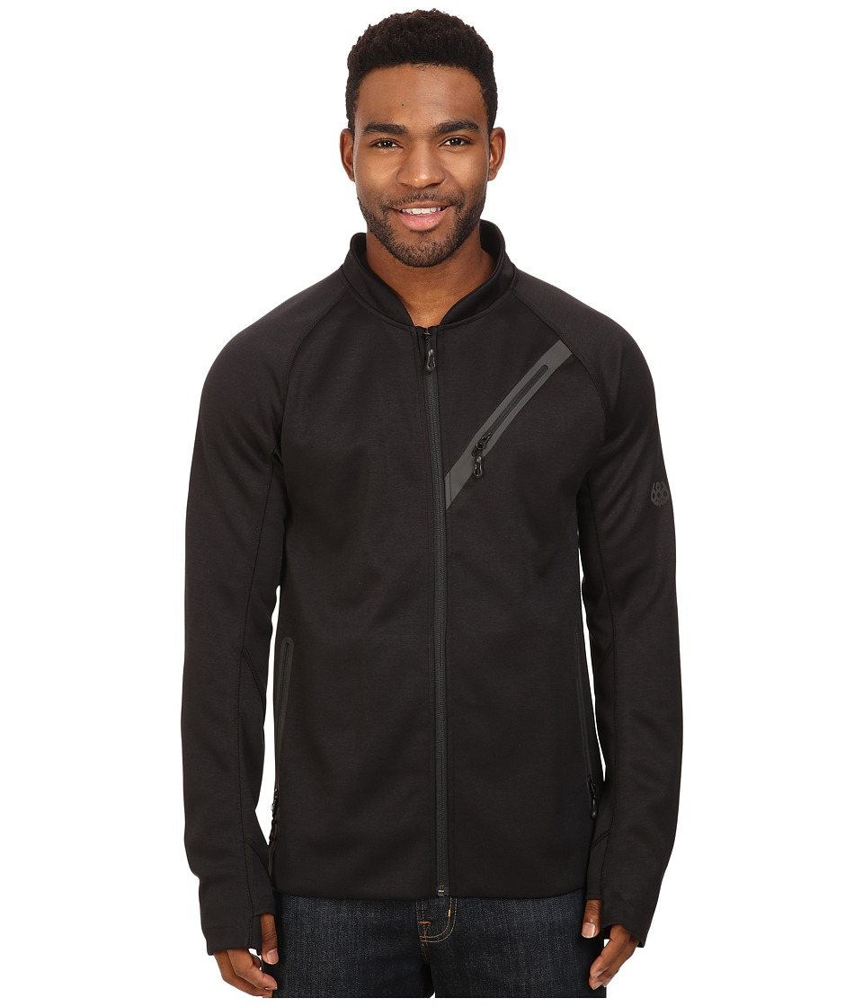686 - GLCR Rouge Zip Tech Fleece (Black) Men's Fleece