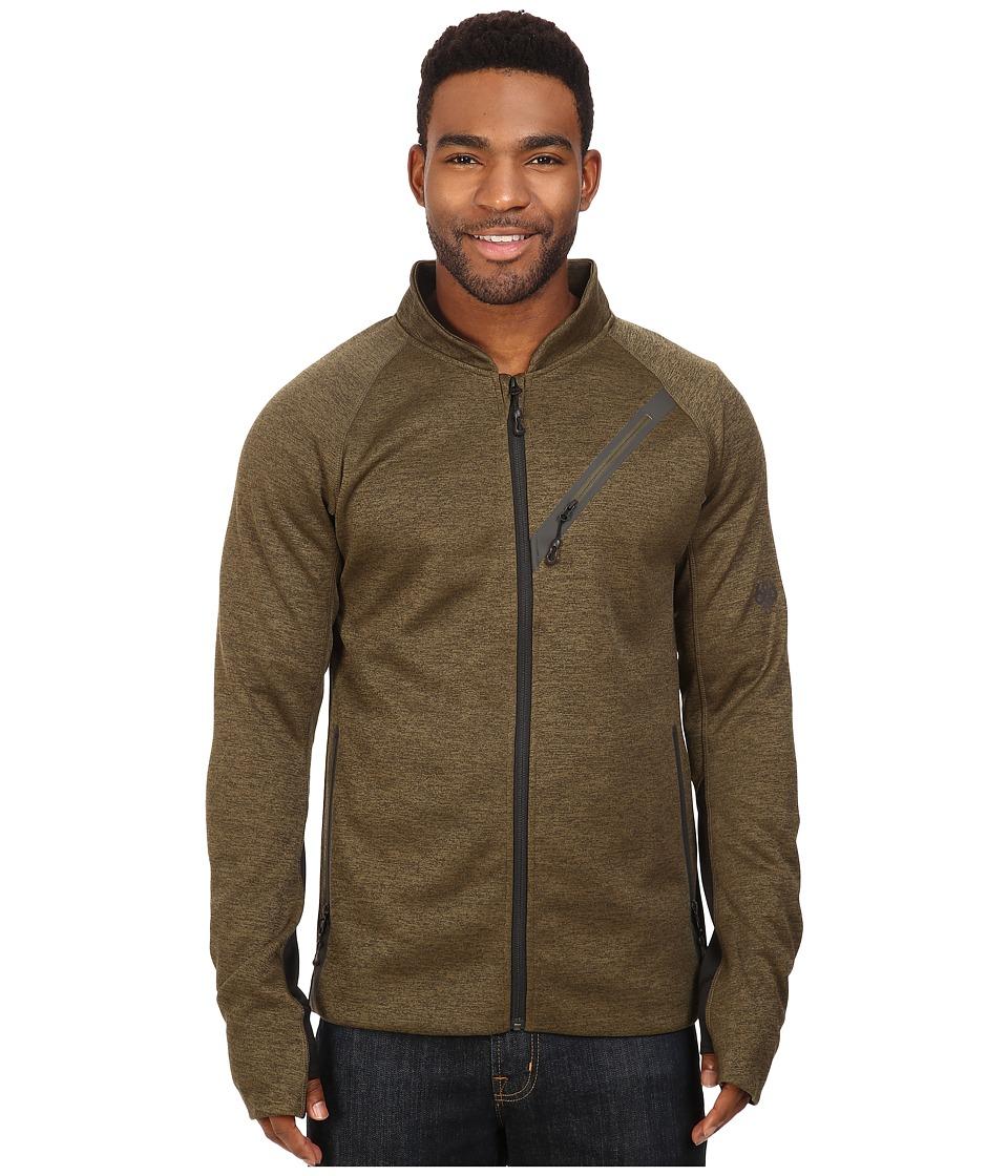 686 - GLCR Rouge Zip Tech Fleece (Olive Heather) Men's Fleece