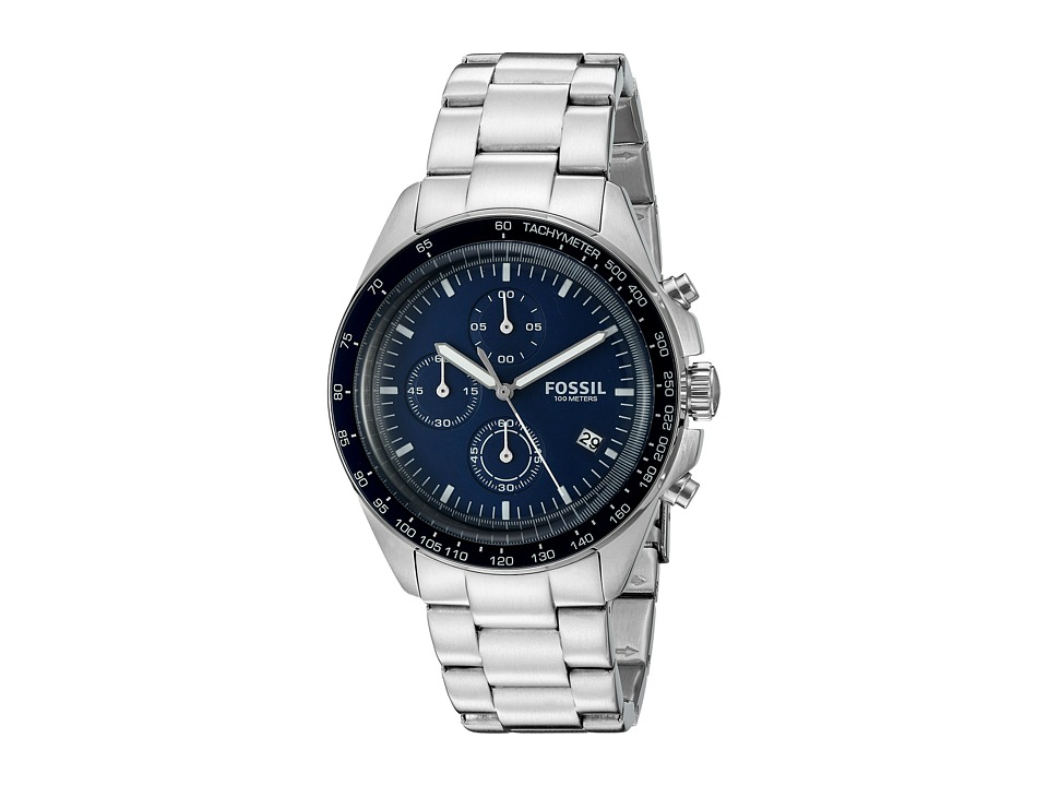Fossil - Sport 54 - CH3030 (Silver) Watches -  One Size