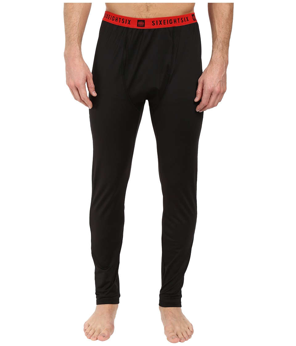 686 - Frontier Base Layer Bottom (Black) Men's Clothing