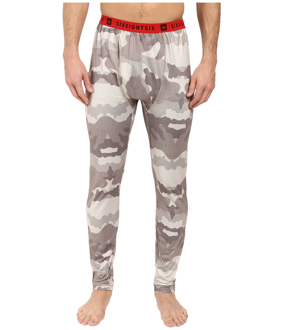 686 - Frontier Base Layer Bottom (Khaki Camo) Men's Clothing
