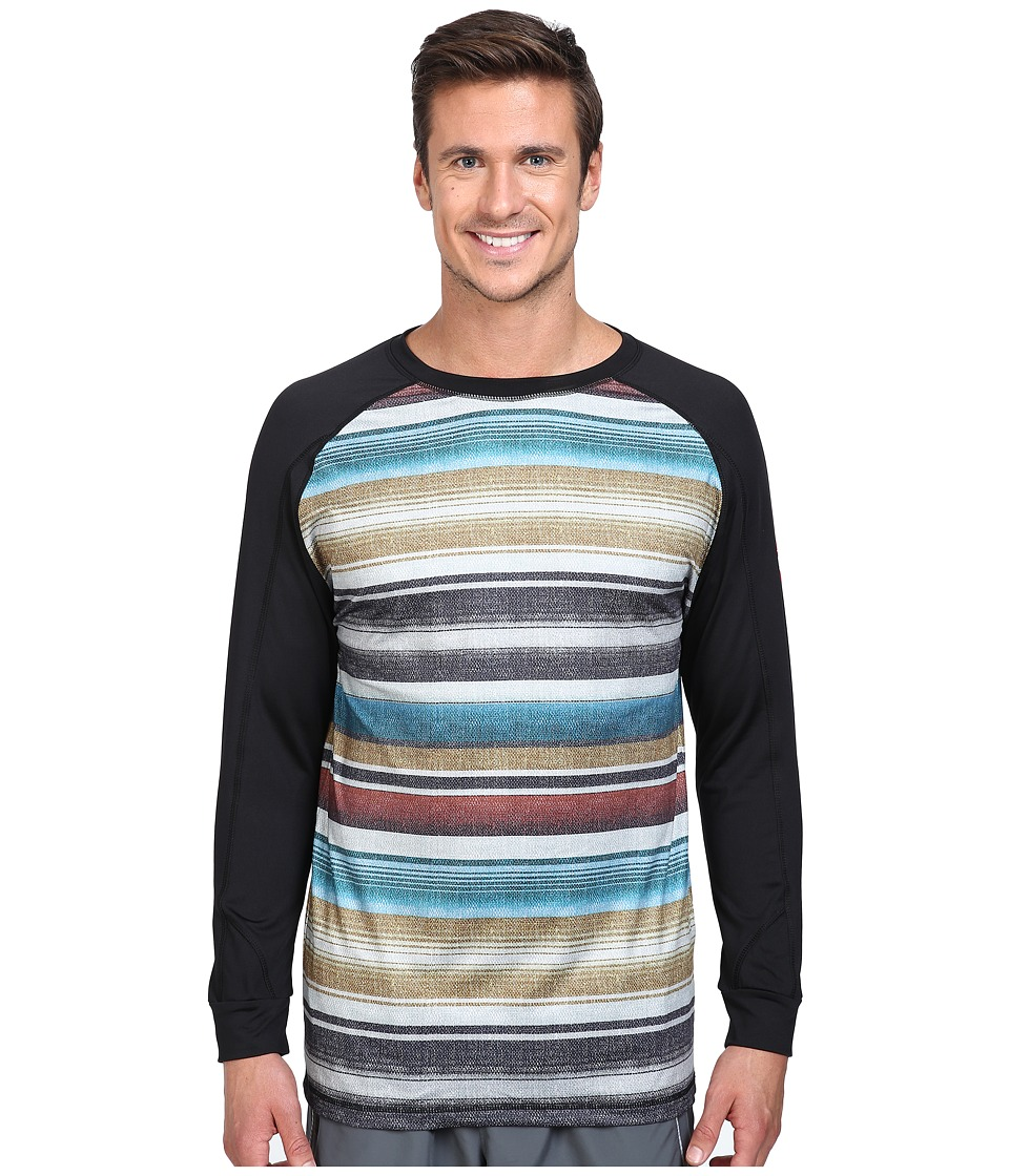 686 - Frontier Base Layer Top (Blanket Color Block) Men's Clothing