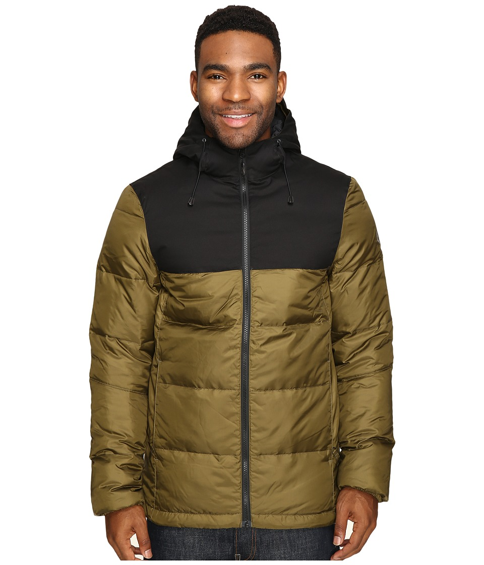 686 - GLCR Avenue Down Insulator (Olive) Men's Clothing