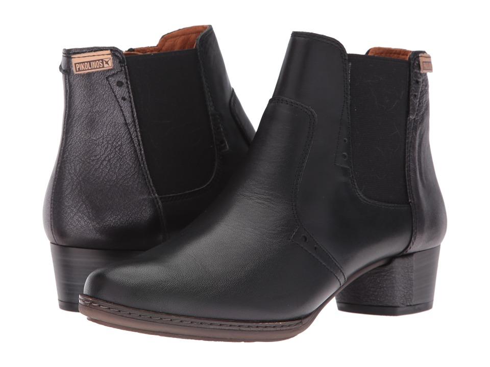 Pikolinos - Valladolid W2J-8803 (Black) Women's Shoes