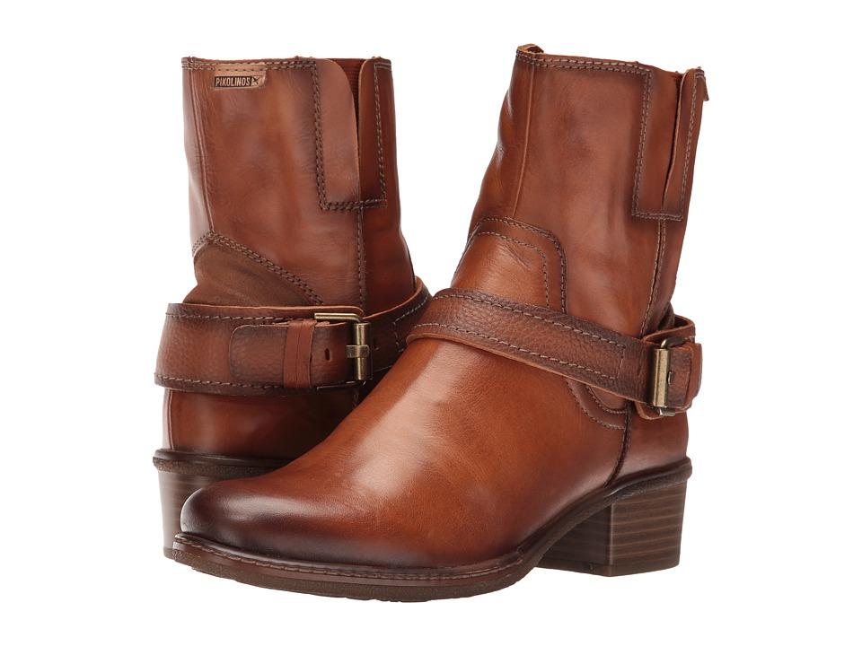 Pikolinos - Zaragoza W9H-8799 (Brandy) Women's Shoes