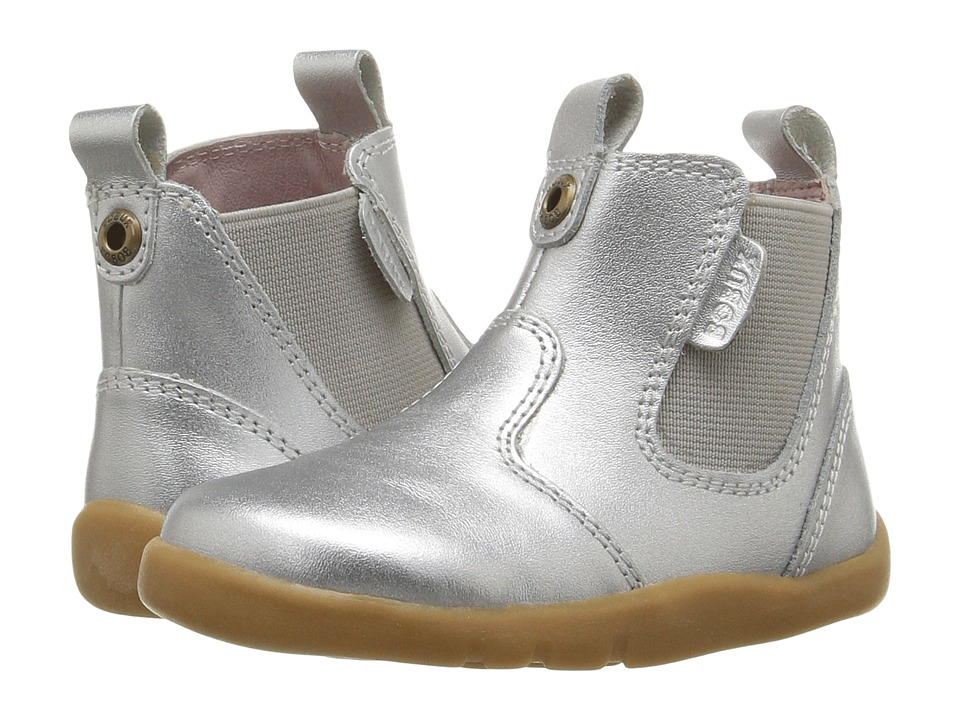 Bobux Kids - I-Walk Outback (Toddler) (Silver) Girl's Shoes