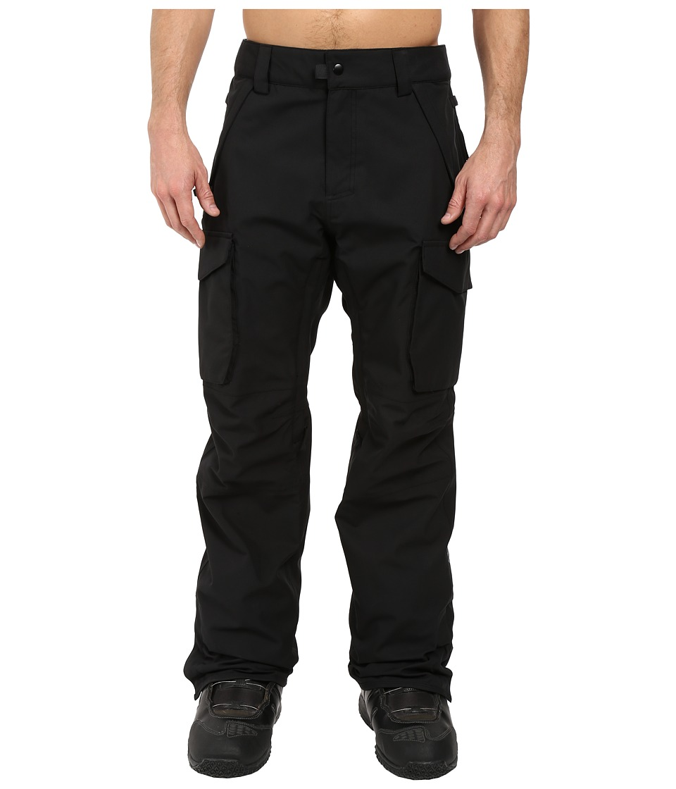 686 - Authentic Infinity Shell Cargo Pants (Black) Men's Casual Pants