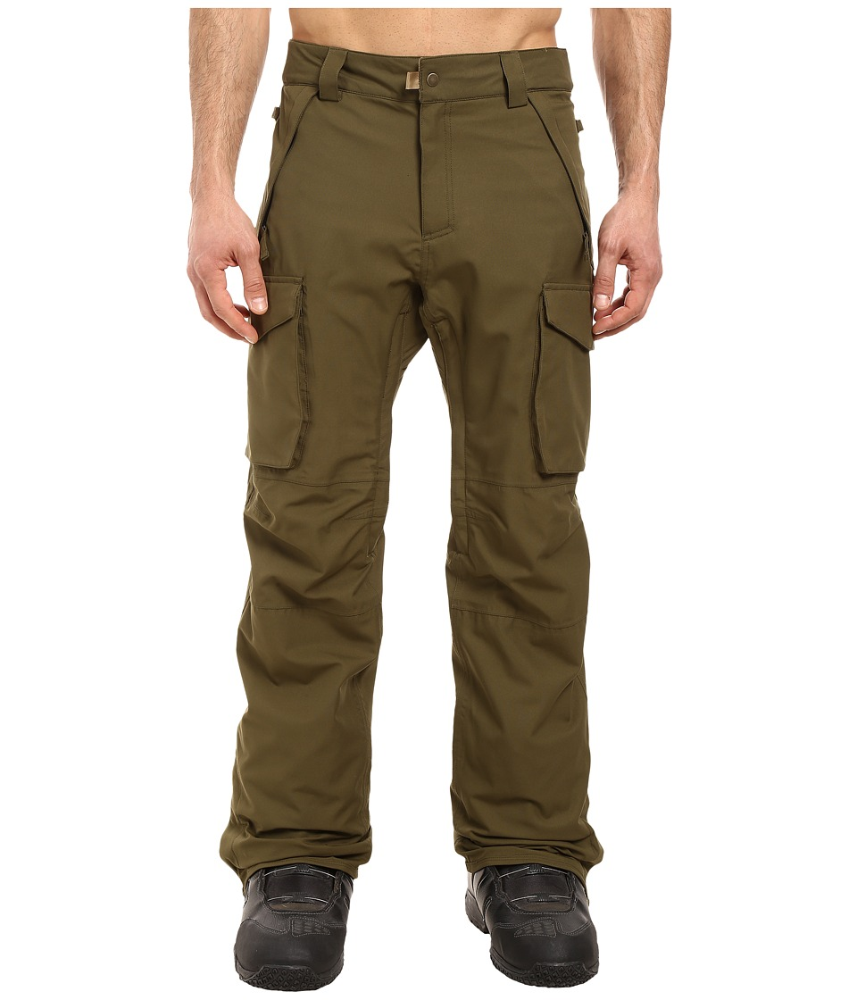 686 - Authentic Infinity Shell Cargo Pants (Olive) Men's Casual Pants