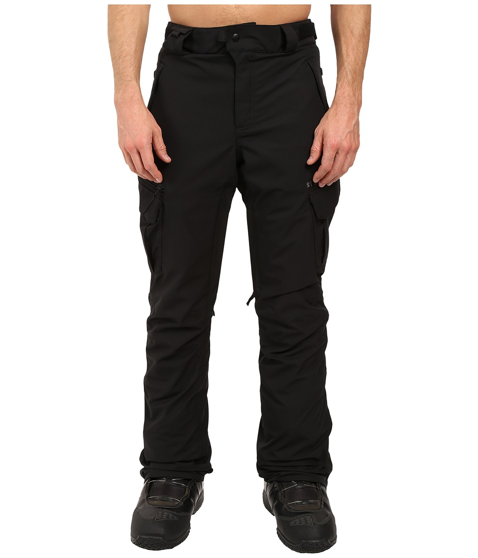 686 - Authentic Smarty Cargo Pants (Black Short) Men's Casual Pants