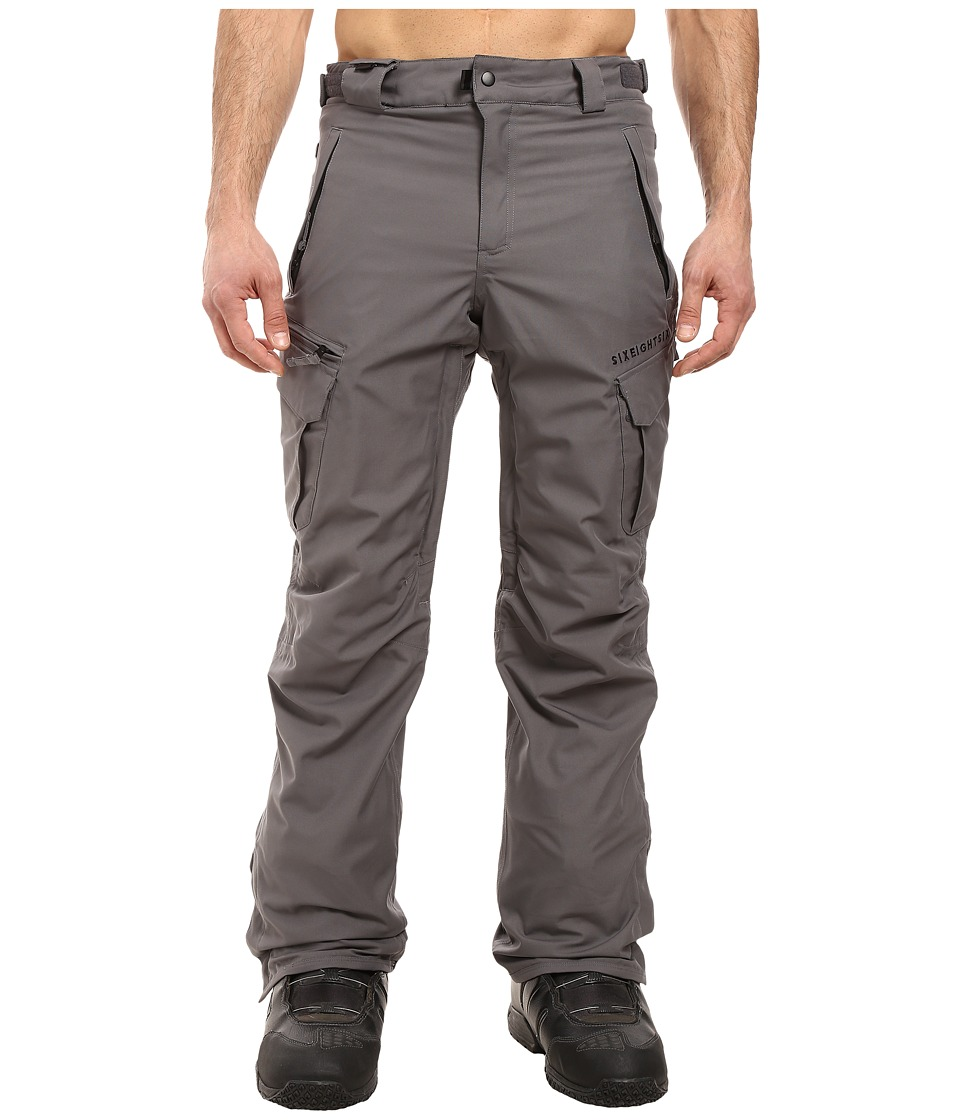 686 - Authentic Smarty Cargo Pants (Steel Melange) Men's Casual Pants