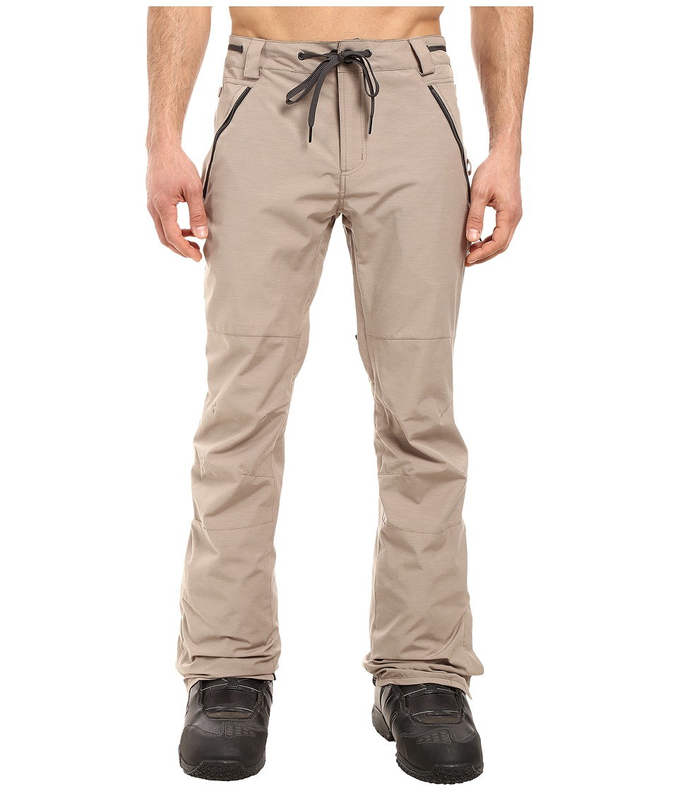 686 - Parklan Triple Black Pants (Khaki) Men's Casual Pants
