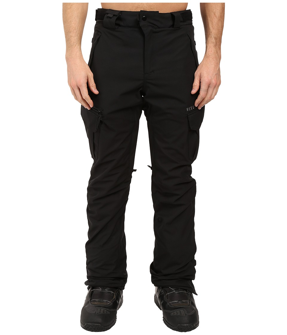 686 - Authentic Smarty Cargo Pants (Black Long) Men's Casual Pants