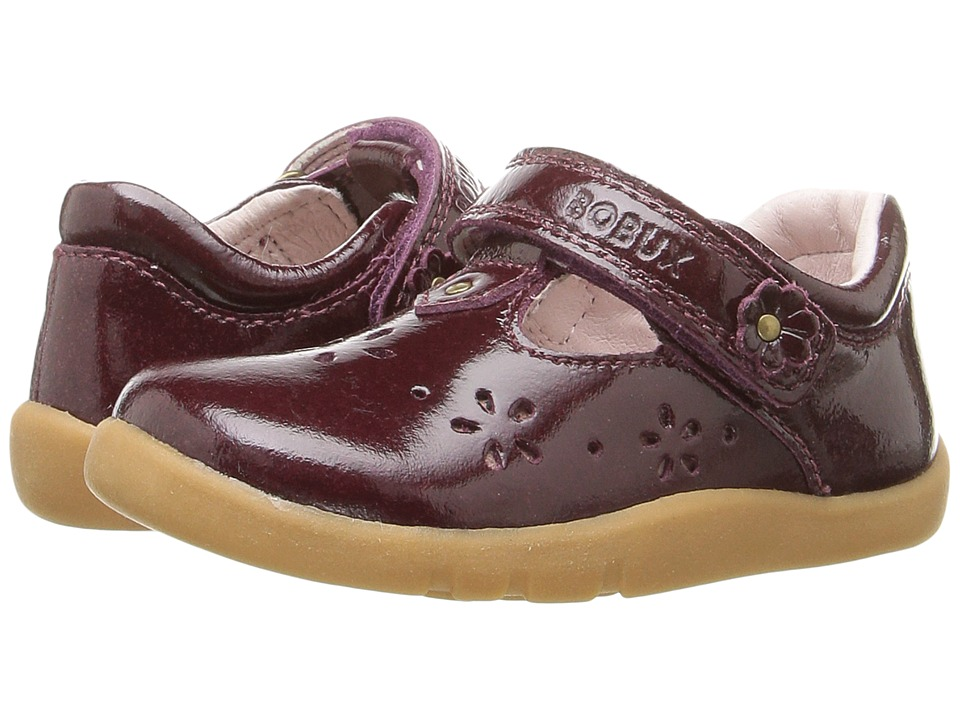 Bobux Kids - I-Walk Rhyme (Toddler) (Plum Gloss) Girl's Shoes
