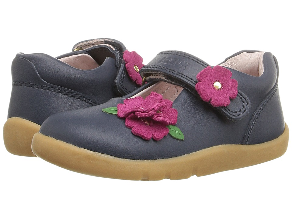 Bobux Kids - I-Walk Wish (Toddler) (Navy) Girl's Shoes