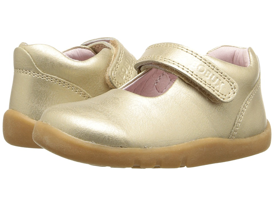 Bobux Kids - I-Walk Delight (Toddler) (Gold) Girl's Shoes