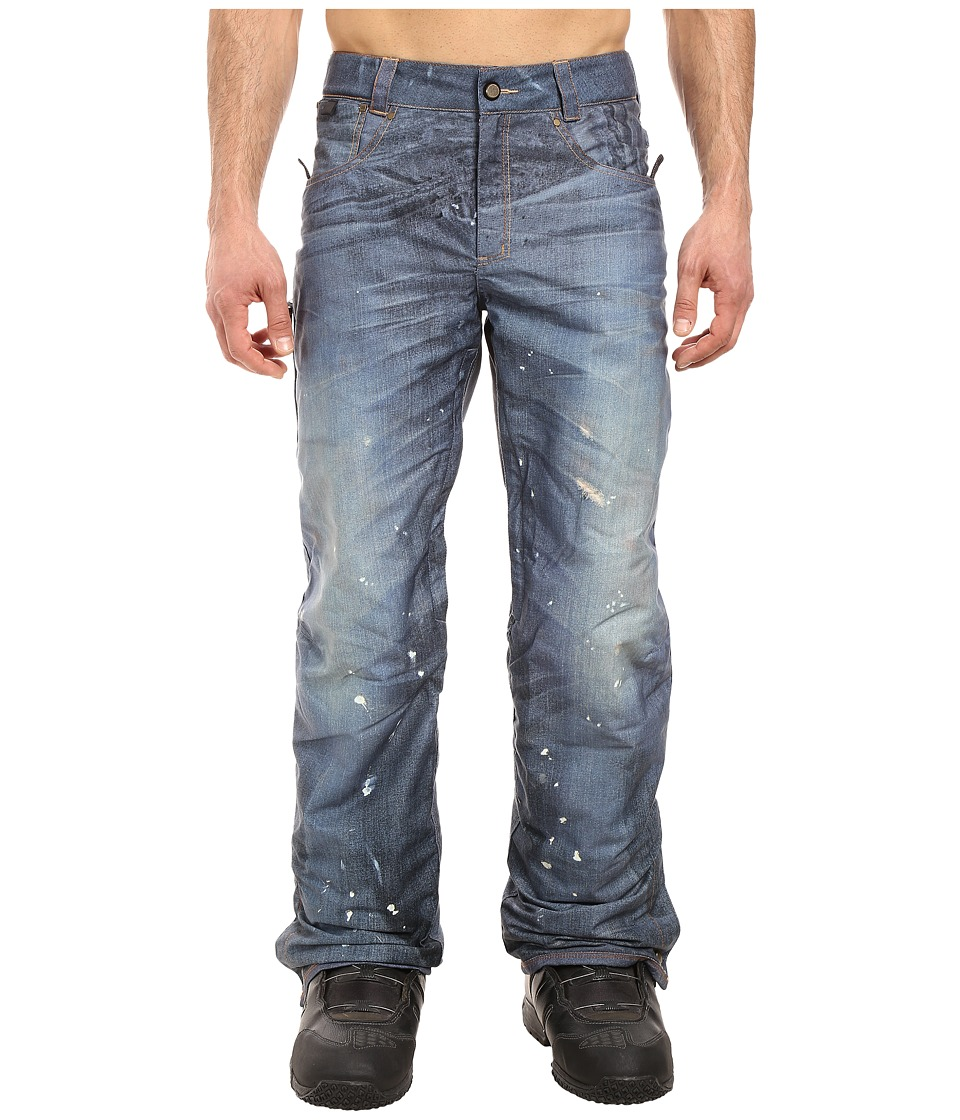 686 - Parklan Destructed Denim Pant (Indigo 1) Men's Casual Pants