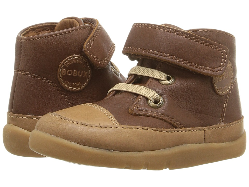 Bobux Kids - I-Walk Bounce (Toddler) (Toffee Brown) Boy's Shoes