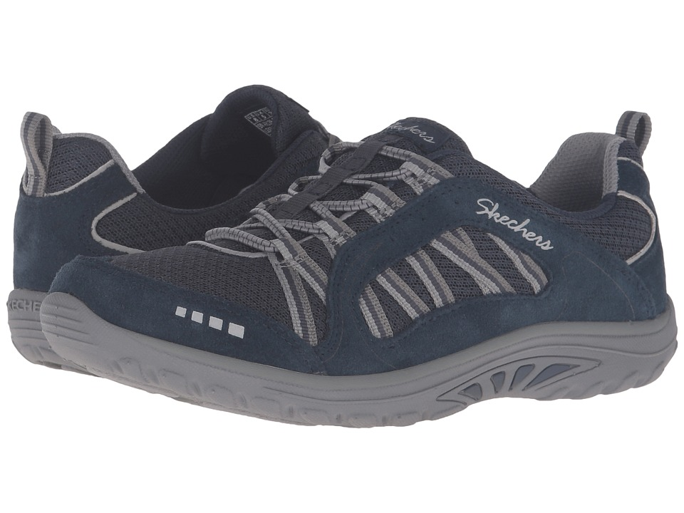 SKECHERS - Reggae Fest - Epic Adventure (Navy/Grey) Women's Lace up casual Shoes