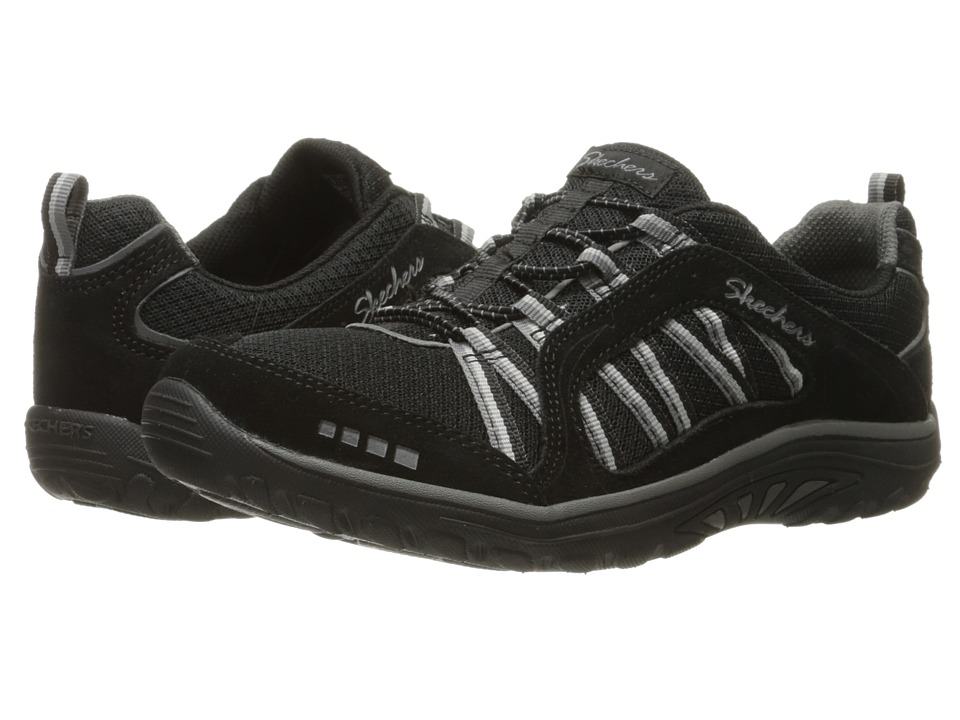 SKECHERS - Reggae Fest - Epic Adventure (Black/Grey) Women's Lace up casual Shoes