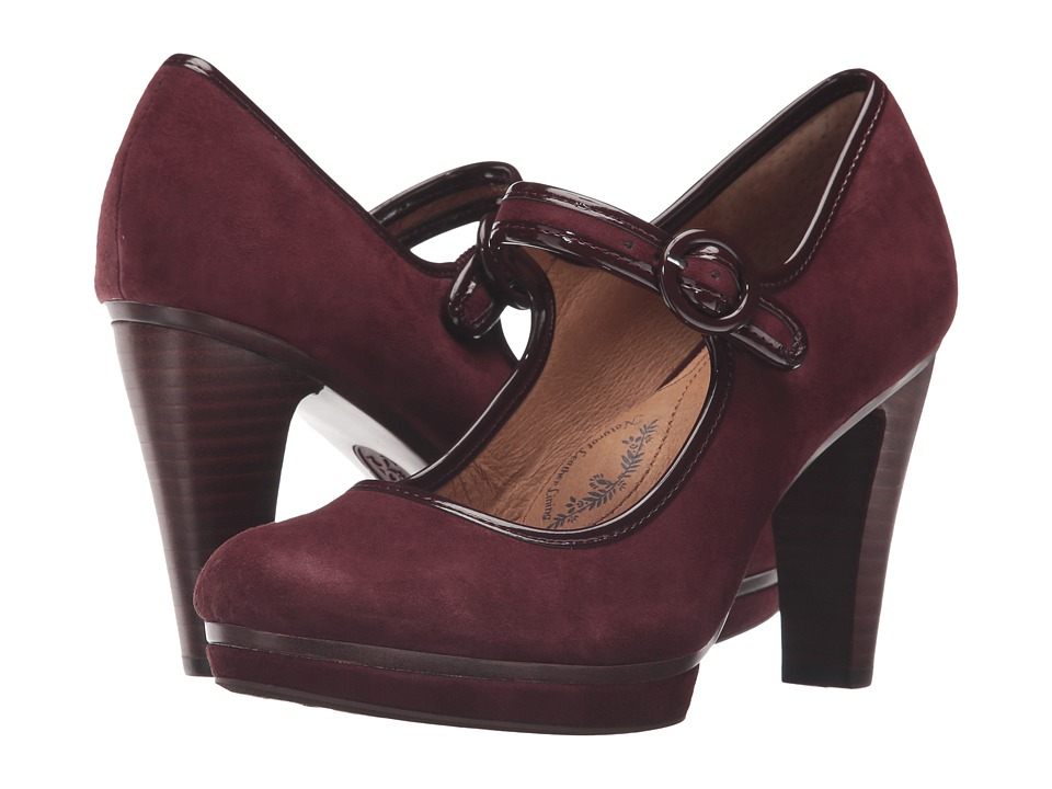 Sofft Monique (Aubergine King Suede) High Heels