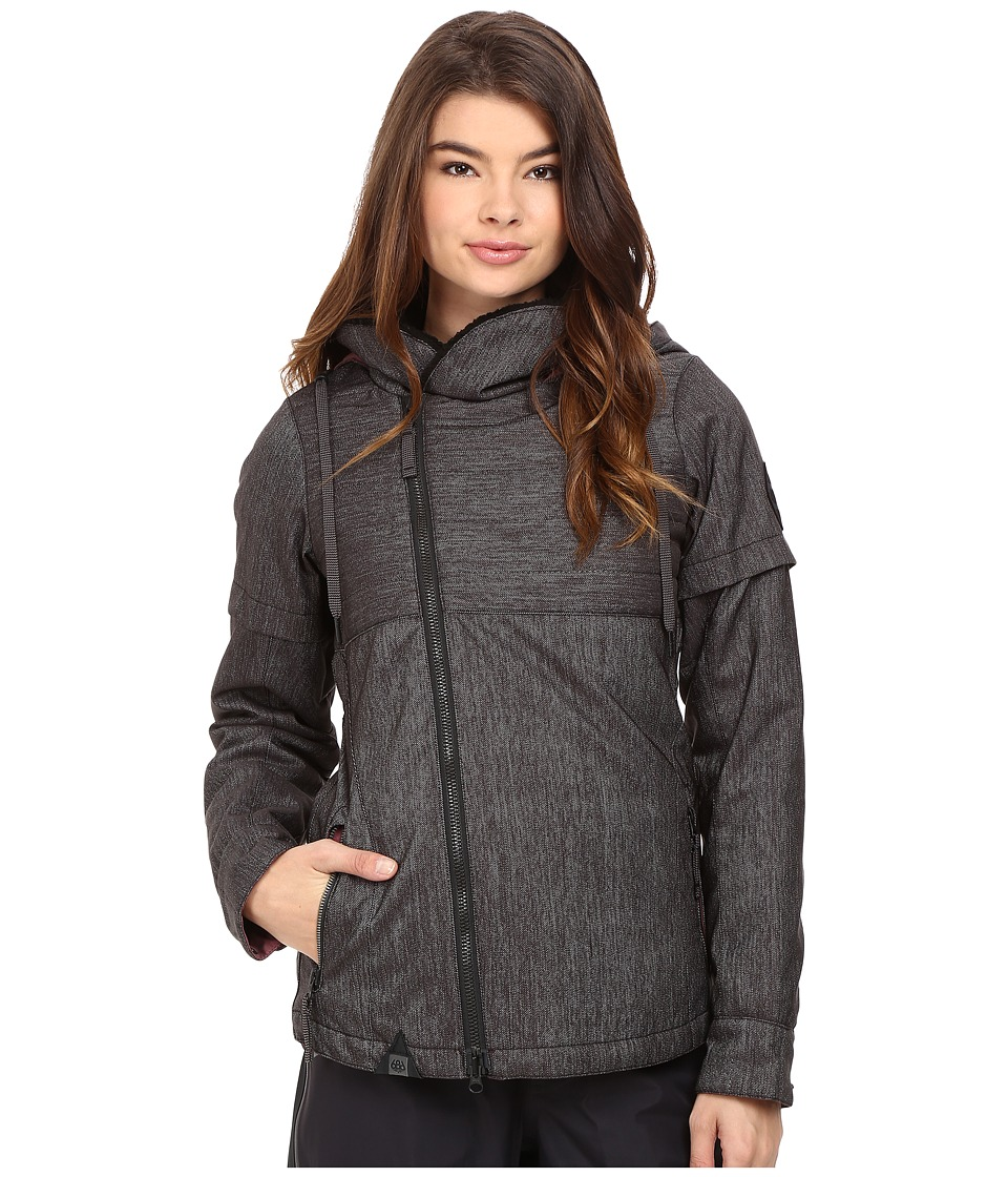 686 - Parklan Immortal Insulated Jacket (Black Denim) Women's Coat