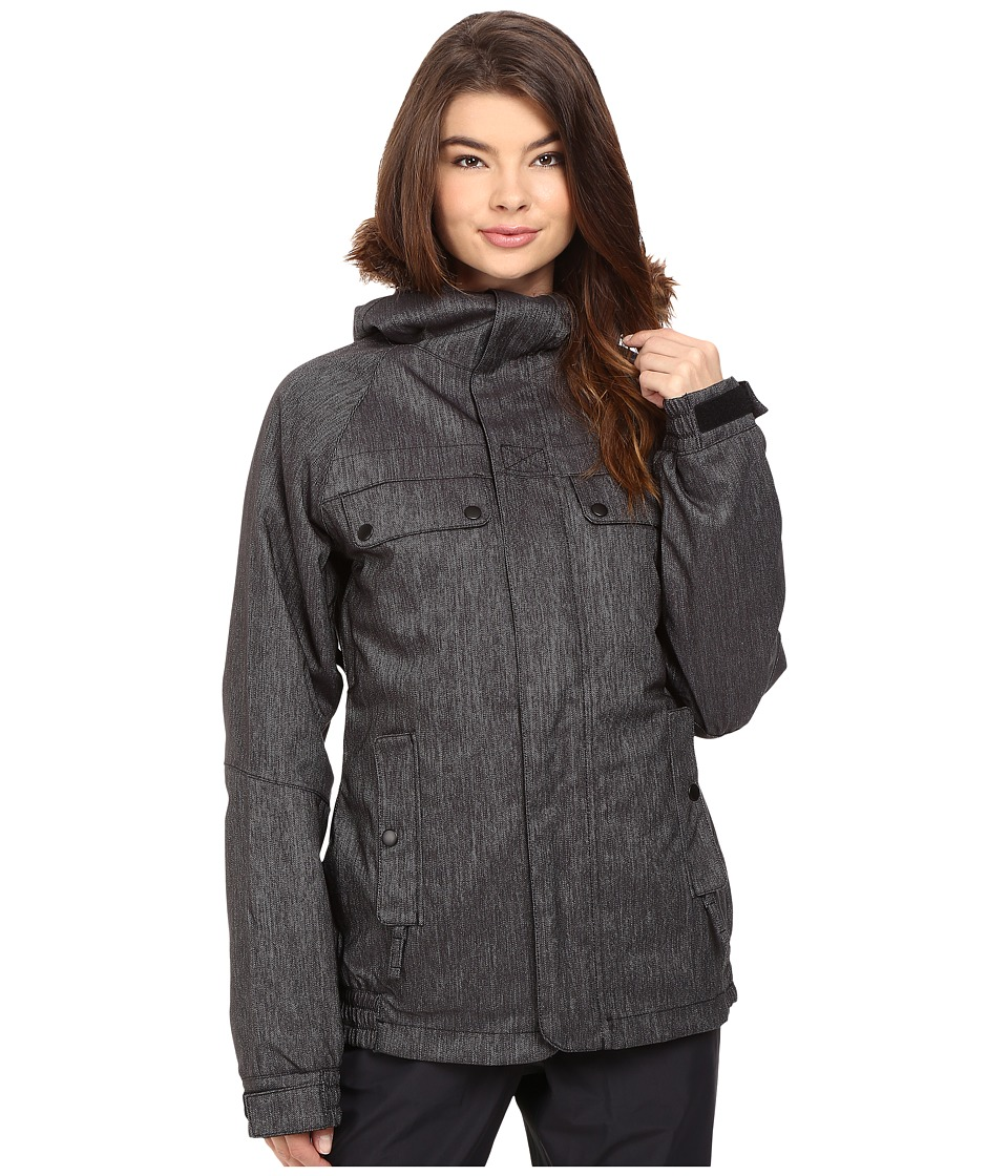 686 - Authentic Bae Jacket (Black Denim) Women's Coat