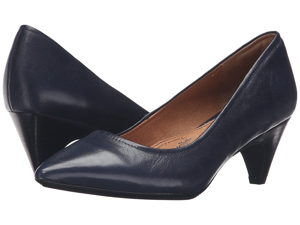 Sofft - Altessa II (Peacoat Navy River Kid Skin) High Heels