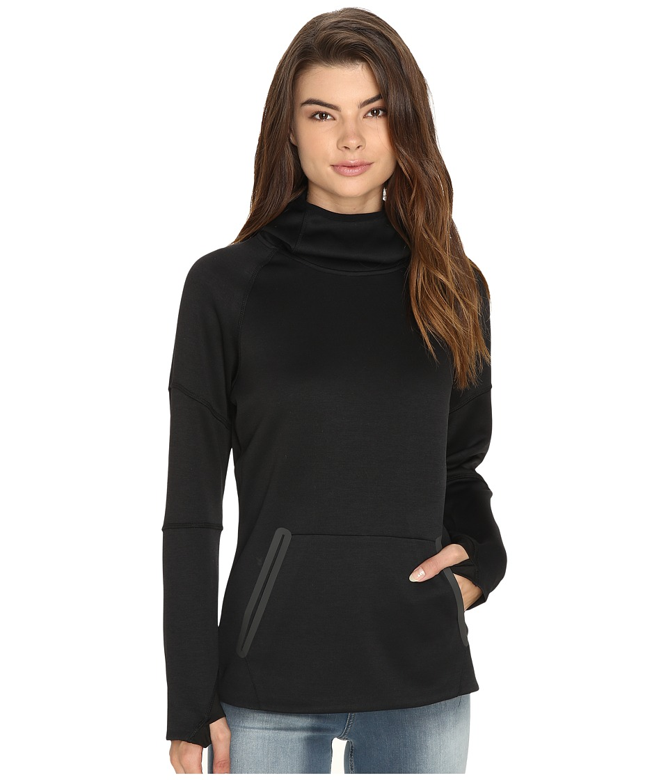 686 - GLCR Storm Tech Pullover Fleece (Black) Women's Fleece