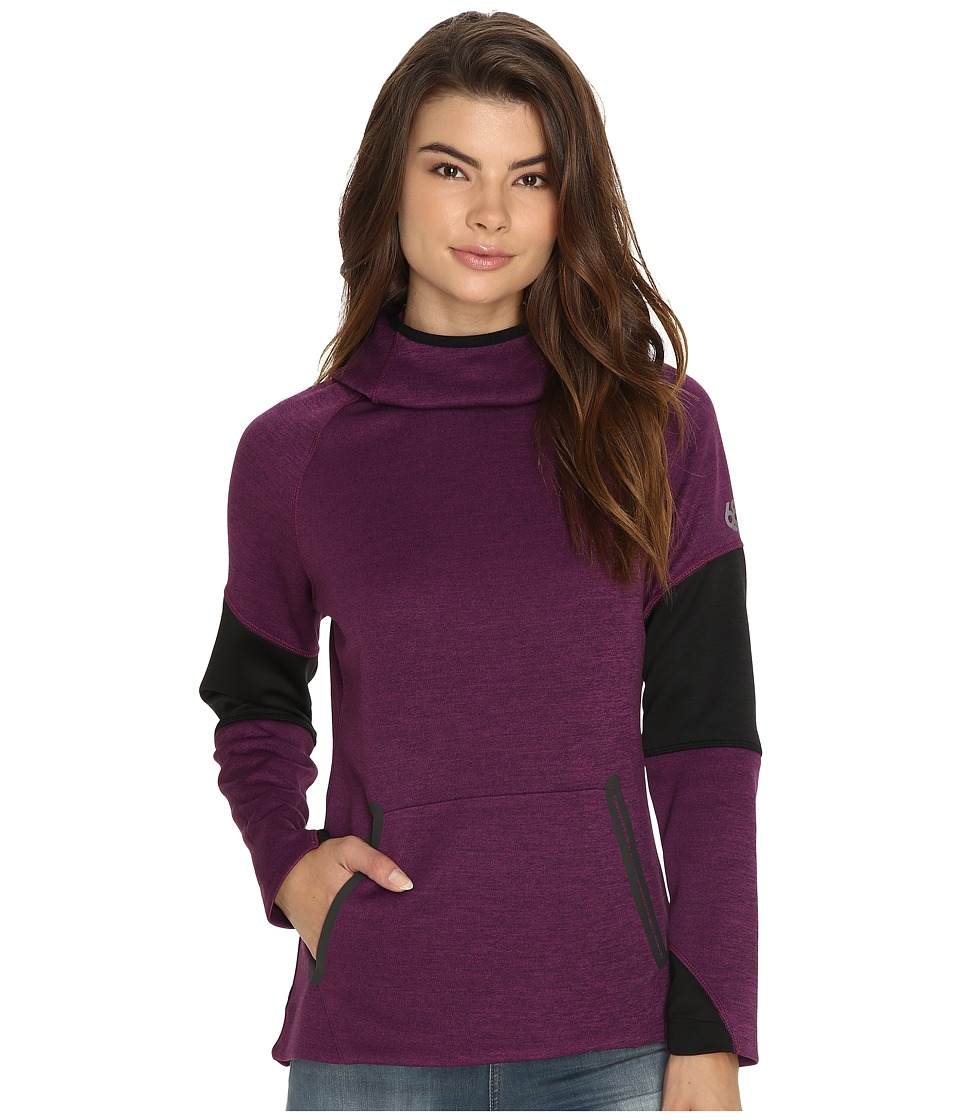 686 - GLCR Storm Tech Pullover Fleece (Mulberry Heather) Women's Fleece