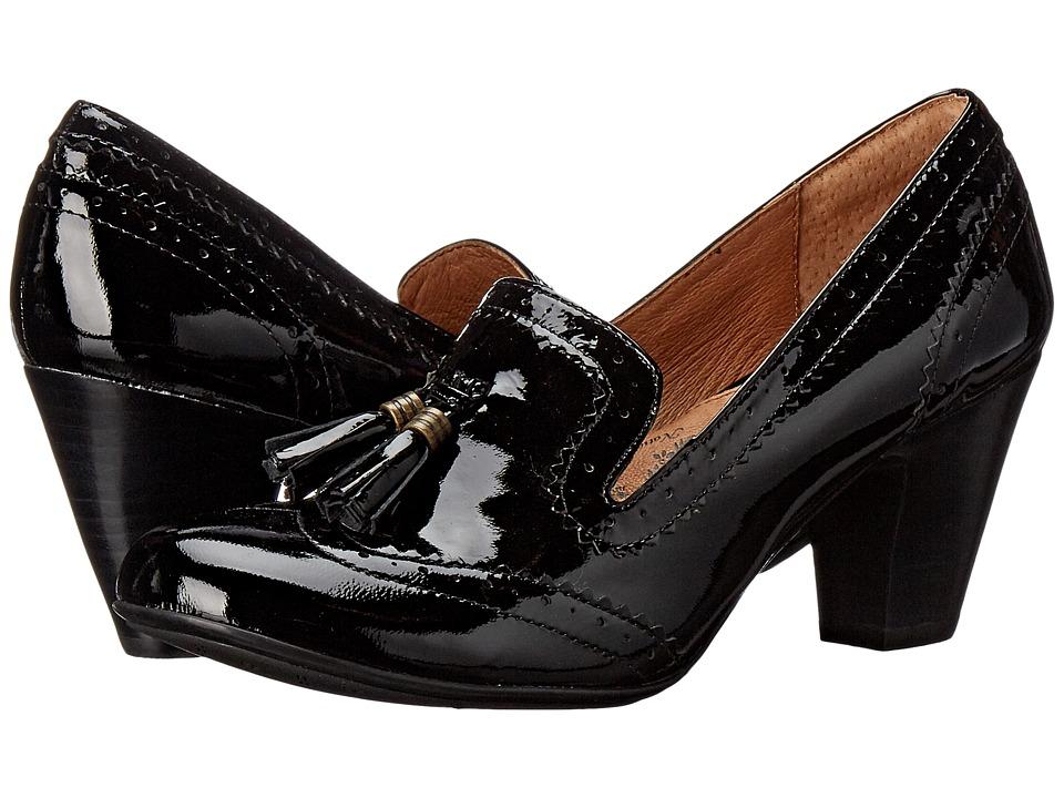 Sofft - Opal (Black Goat Patent) High Heels