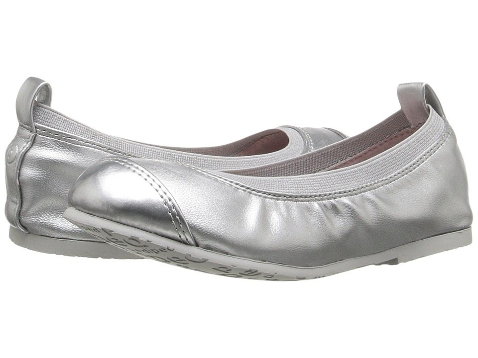pediped - Angie Flex (Little Kid/Big Kid) (Silver 1) Girl's Shoes