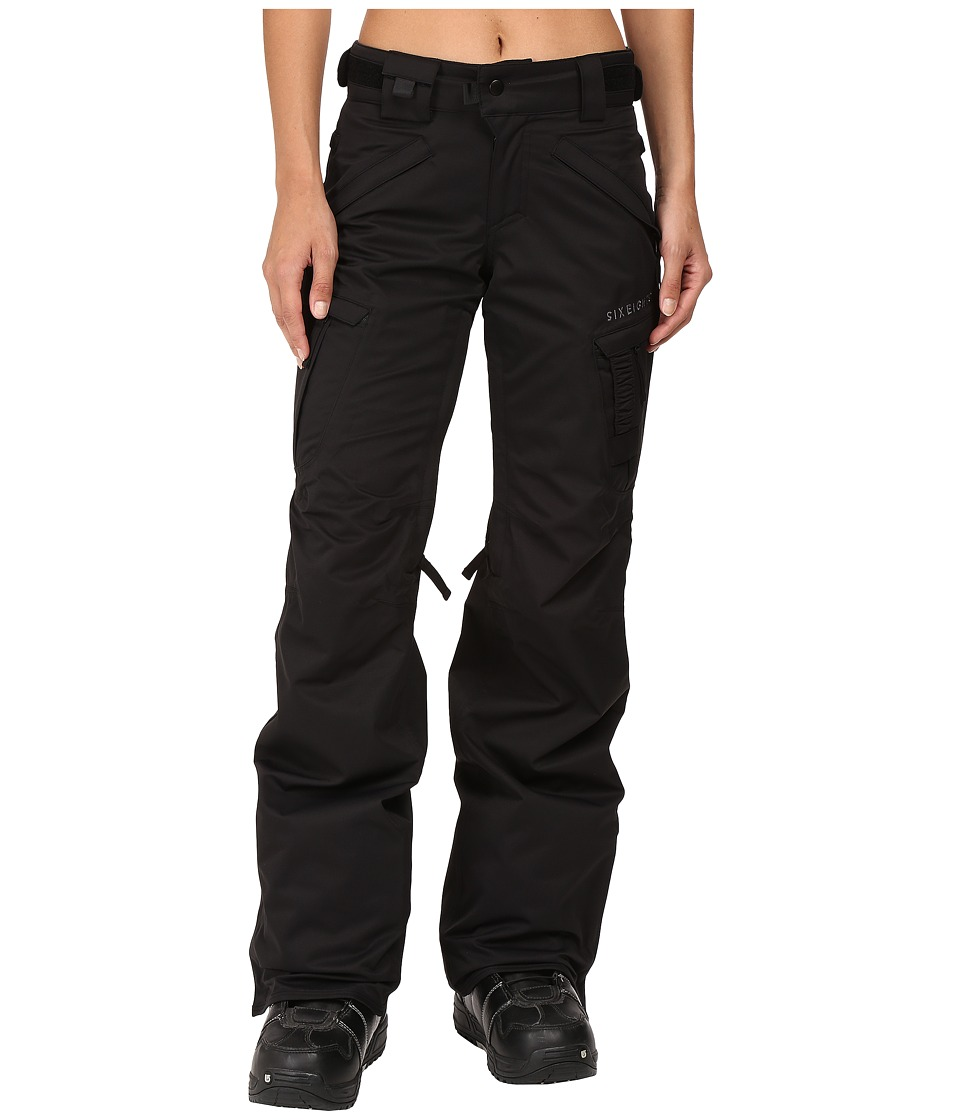 686 - Authentic Smarty Cargo Pant (Black Tall) Women's Outerwear