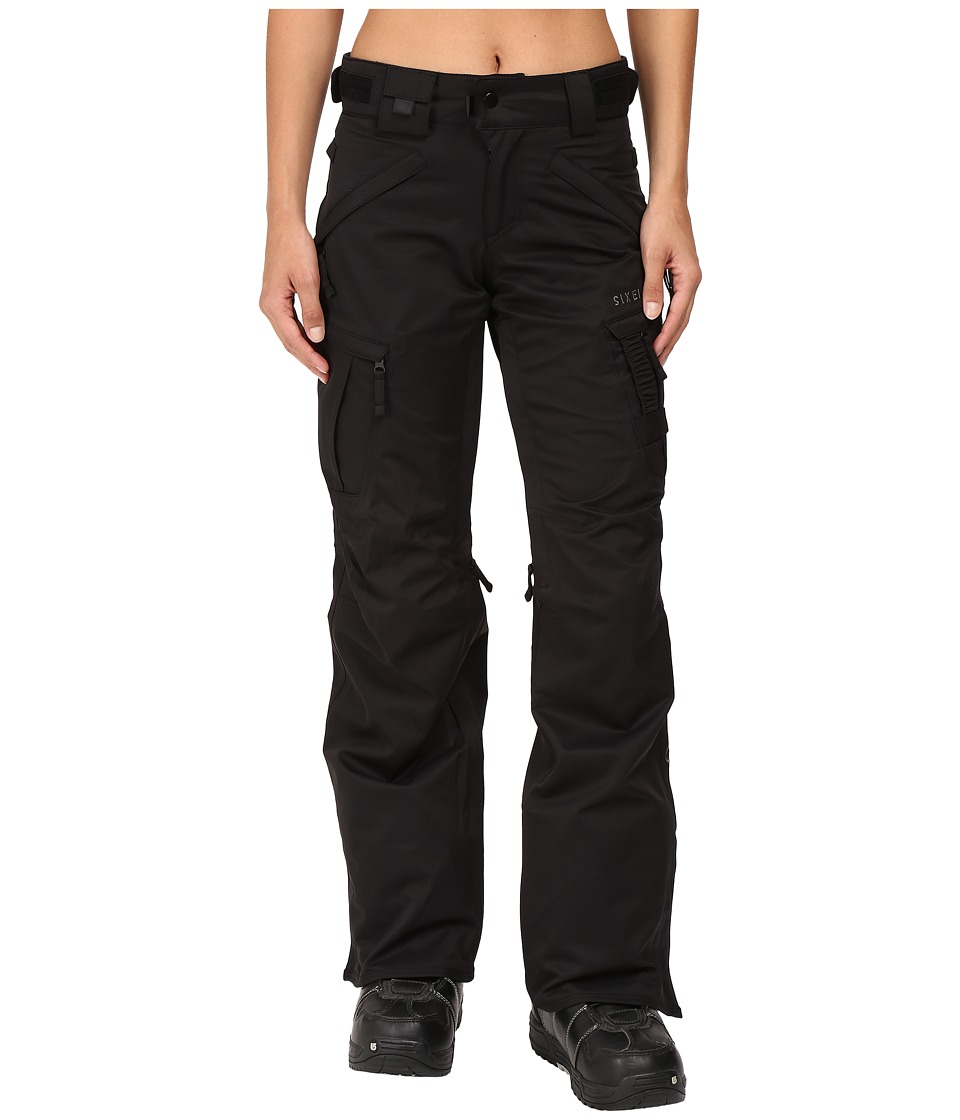 686 - Authentic Smarty Cargo Pant (Black 1) Women's Outerwear