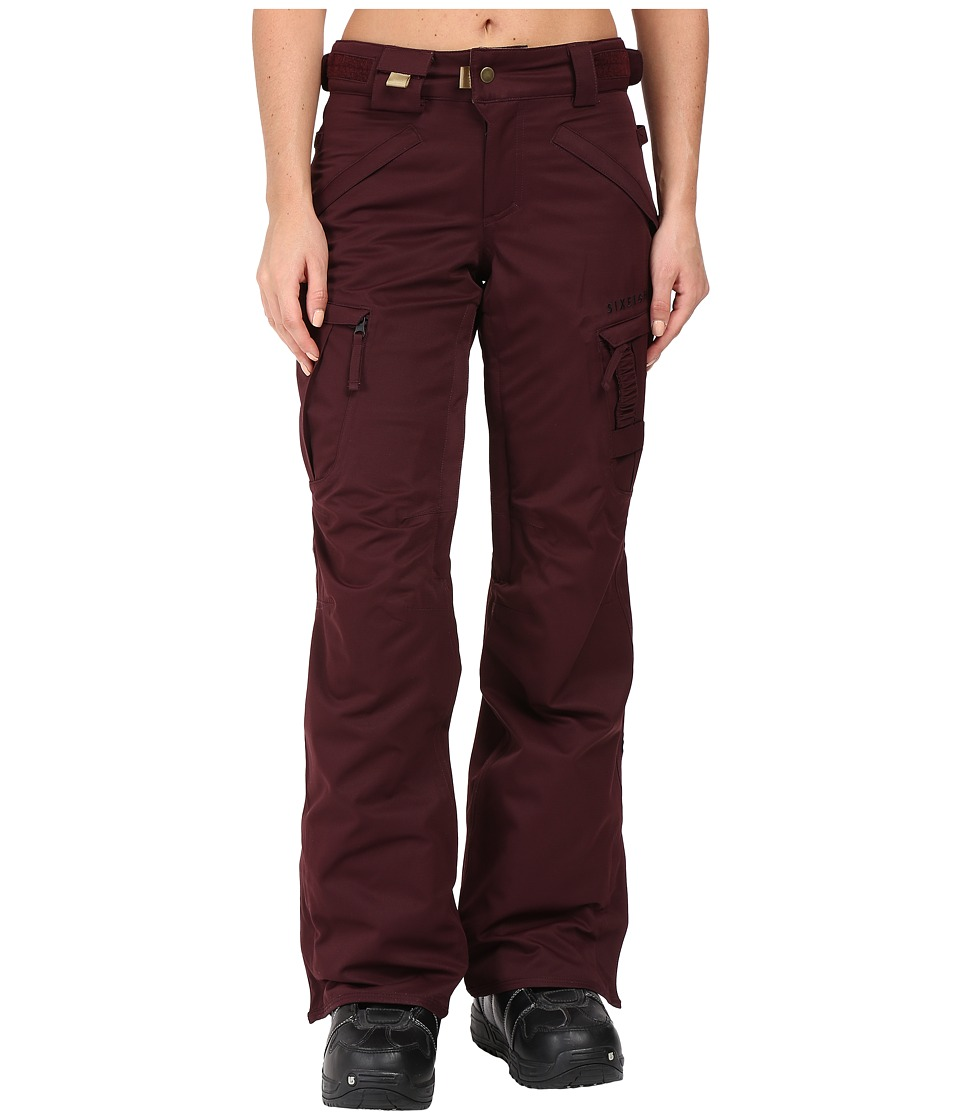 686 Authentic Smarty Cargo Pant (Black Ruby) Women