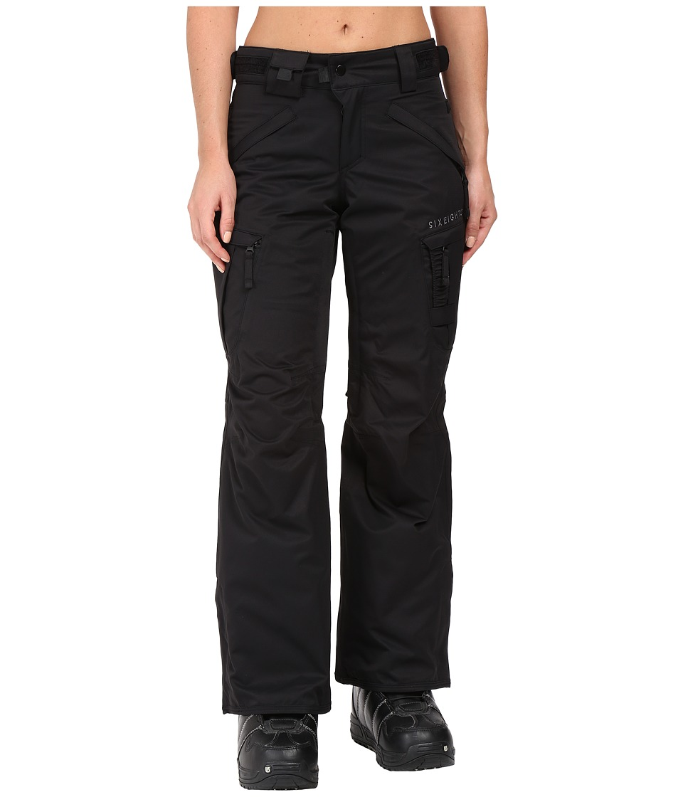 686 - Authentic Smarty Cargo Pant (Black Short) Women's Outerwear