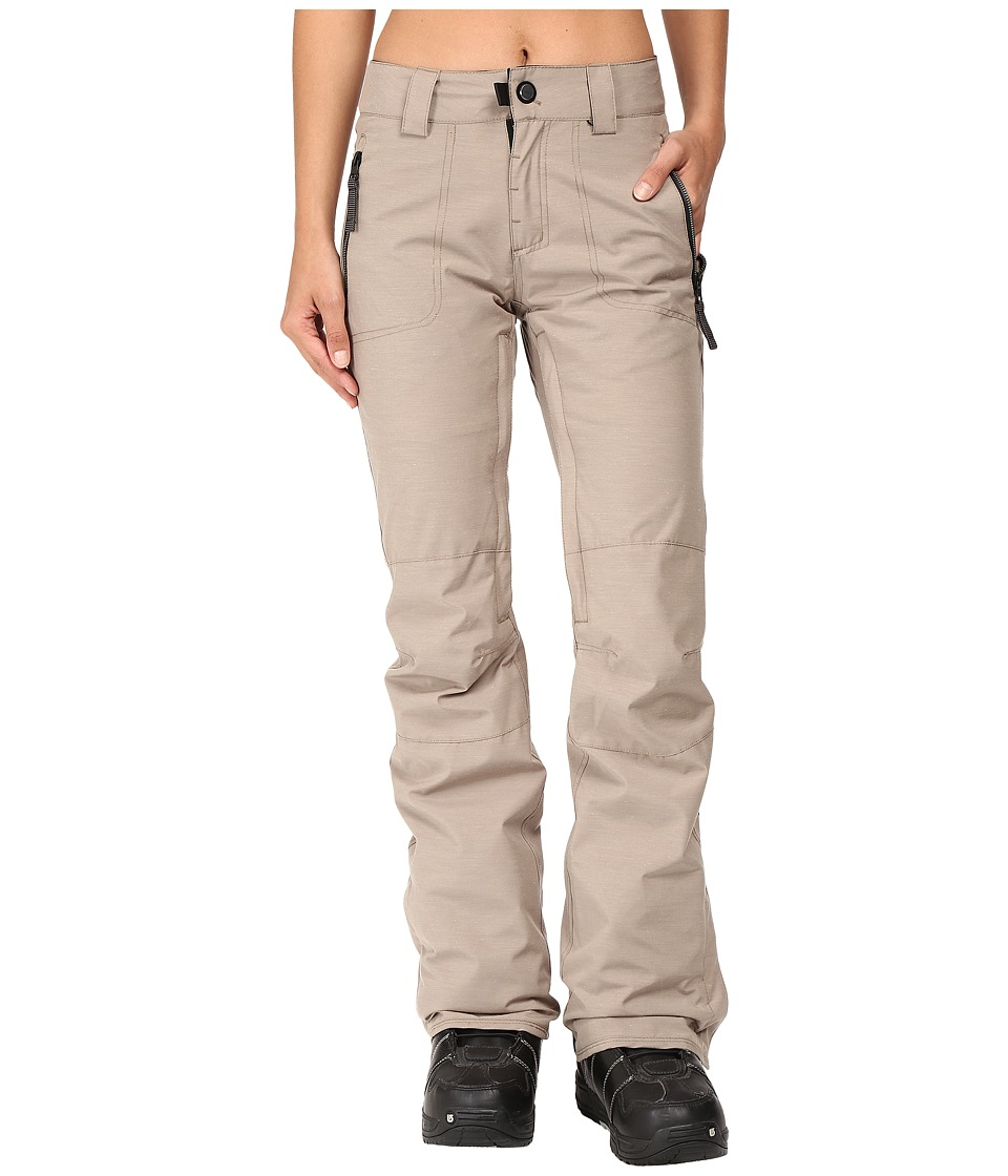 686 - Parklan After Dark Pants (Khaki Heather) Women's Casual Pants