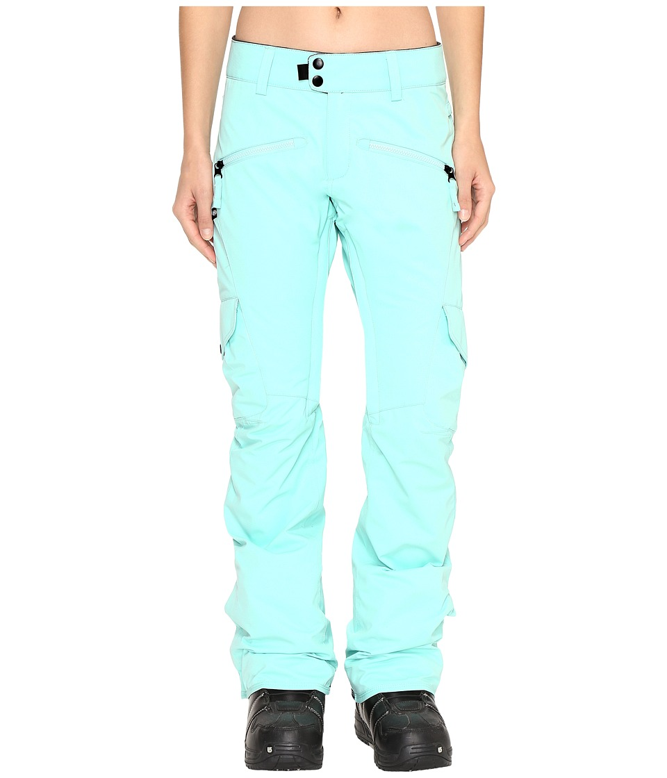 686 - Authentic Mistress Insulated Cargo Pants (Dusty Aqua) Women's Casual Pants