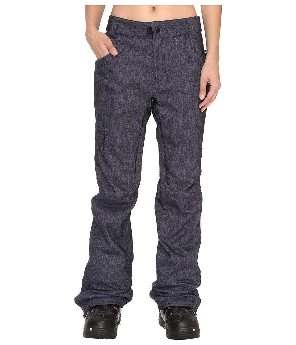686 - Authentic Patron Insulated Pants (Midnight Blue Denim) Women's Casual Pants